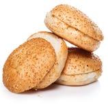 Broodjes voor hamburger Royalty-vrije Stock Fotografie