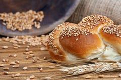 Broodjesbrood & Tarwe Royalty-vrije Stock Afbeeldingen