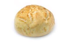 Broodjesbroodje op witte achtergrond Royalty-vrije Stock Foto