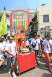 2015 Broodjesfestival in Cheung Chau, Hong Kong Stock Afbeelding