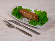 Broodjesrundvlees Stock Foto's