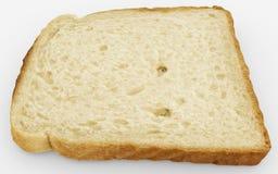 Broodplak - kies toostclose-up uit - op wit Royalty-vrije Stock Fotografie