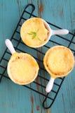Broodpudding met kaas Royalty-vrije Stock Afbeelding