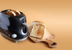 Broodrooster en Toosts Royalty-vrije Stock Afbeeldingen