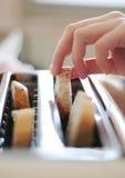 Broodrooster op keuken Royalty-vrije Stock Afbeeldingen