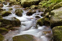 The brook Stock Images