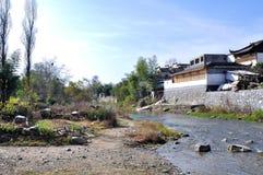Brook in Hong village Stock Photo