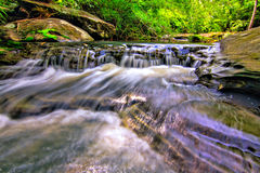 Brook, Stream. Bamboo Brook Stream nature spa relax stock images