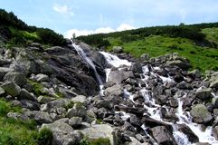 Brook in Tatra Mountains. Walking on a mountains is one of the best thing on the world Stock Photo