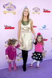 Brooke Anderson. At the Los Angeles premiere of `Sofia the First: Once Upon a Princess` held at the Disney Studios in Los Angeles, United States on November 10 Stock Photography