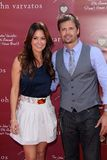 Brooke Burke, David Charvet Royalty Free Stock Images