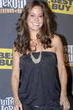 Brooke Burke on the red carpet. At the Guitar Hero Legends of Rock event Royalty Free Stock Image