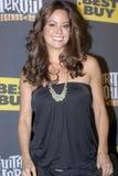 Brooke Burke sur le tapis rouge Image libre de droits