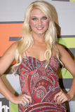 Brooke Hogan appearing. Brooke Hogan on the red carpet Royalty Free Stock Photos