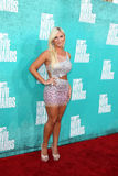 Brooke Hogan arriving at the 2012 MTV Movie Awards Royalty Free Stock Photo