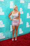 Brooke Hogan arriving at the 2012 MTV Movie Awards Stock Photo