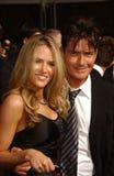 Brooke Mueller, Charlie Sheen fotos de stock