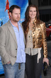 Brooke Shields,Chris Henchy Stock Images