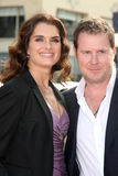 Brooke Shields,Chris Henchy Royalty Free Stock Photos