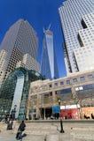 Brookfield plaatst vroeger het Wereld Financiële Centrum Stock Fotografie