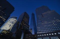 Brookfield plaatst vroeger het Wereld Financiële Centrum Royalty-vrije Stock Foto's