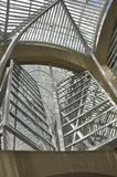 Brookfield Place Atrium from Toronto in Ontario Province Canada. Allen Lambert Galleria at Brookfield Place from Toronto in Ontario Province of Canada on 24th Stock Photo