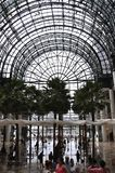 New York City, 2nd July: Brookfield Place interior in Manhattan from New York City in United States. Brookfield Place interior in Manhattan from New York City in Stock Photography
