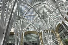 Brookfield Place Structure details  from Toronto in Ontario Province Canada. Brookfield Place Structure details from Toronto in Ontario Province of Canada on Stock Photography