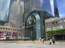 Brookfield-Platz im Lower Manhattan, NYC lizenzfreie stockbilder
