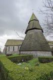 Brookland kyrkliga Klocka torn Fotografering för Bildbyråer