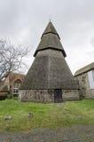 Brookland kyrkliga Klocka torn Arkivfoton