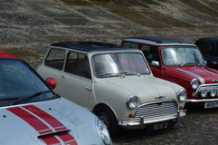 Brooklands Mini Day 2016. Royalty Free Stock Image