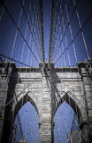 Brooklin桥梁 免版税库存图片