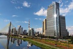 Free Brooklin And Marginal Pinheiros Sao Paulo Brazil Royalty Free Stock Photography - 7262537