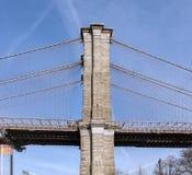 Brooklin Bridge Pylon Royalty Free Stock Photos