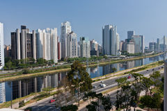 Brooklin Neighbourhood Sao Paulo Royalty Free Stock Photo