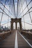Brooklybrug, New York stock fotografie