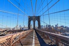 Brooklyn överbryggar Royaltyfria Bilder