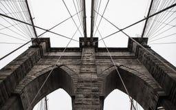 Brooklyn överbryggar i New York City Royaltyfri Fotografi