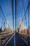 мост brooklyn стоковые изображения