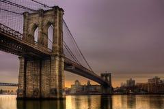 мост brooklyn Стоковая Фотография RF