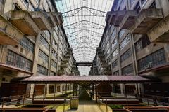 Brooklyn Army Terminal Royalty Free Stock Images