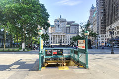 Brooklyn Borough Hall Subway Station Royalty Free Stock Photography