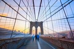 Free Brooklyn Boys On Bridge Stock Photos - 20264523