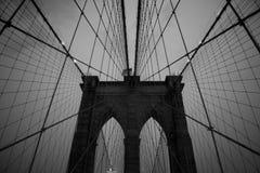 Brooklyn-Brücke Lizenzfreies Stockbild