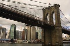 Brooklyn-Brücke Lizenzfreies Stockfoto