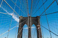 Brooklyn-Brücke Stockfotografie