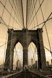 Brooklyn-Brücke Stockbild