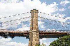 Brooklyn-Brücke, Manhattan, NYC Stockfotos