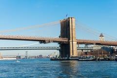 Brooklyn-Brücke in New York Lizenzfreie Stockbilder